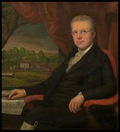 Thomas Earle, painting by Ralph Earle