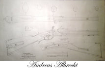 Albrecht Christian Springs blueprint plan flintlock